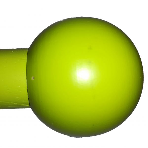 Barra color verde terminal Bola
