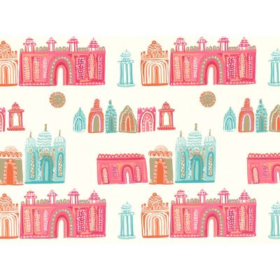 Papel pintado infantil de Jane Churchill Get Happy