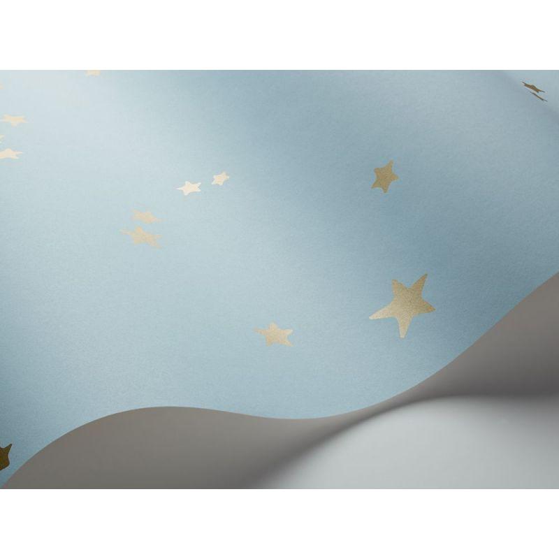 Papel pintado Woods & Pears gris pera oro