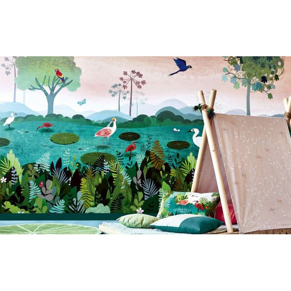 Mural Dusky Amazon Wall