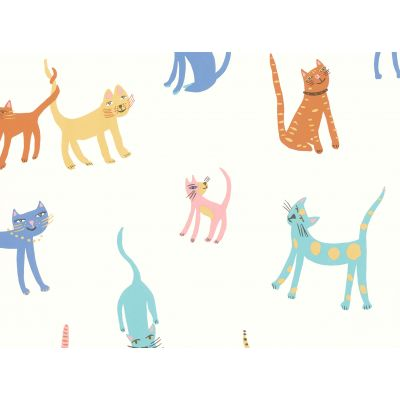 PRETTY KITTY papel pintado...