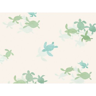 TINY TURTLES papel pintado...
