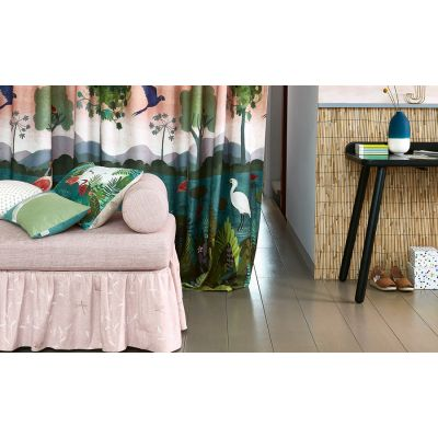 Dusky Amazon cortina estampada