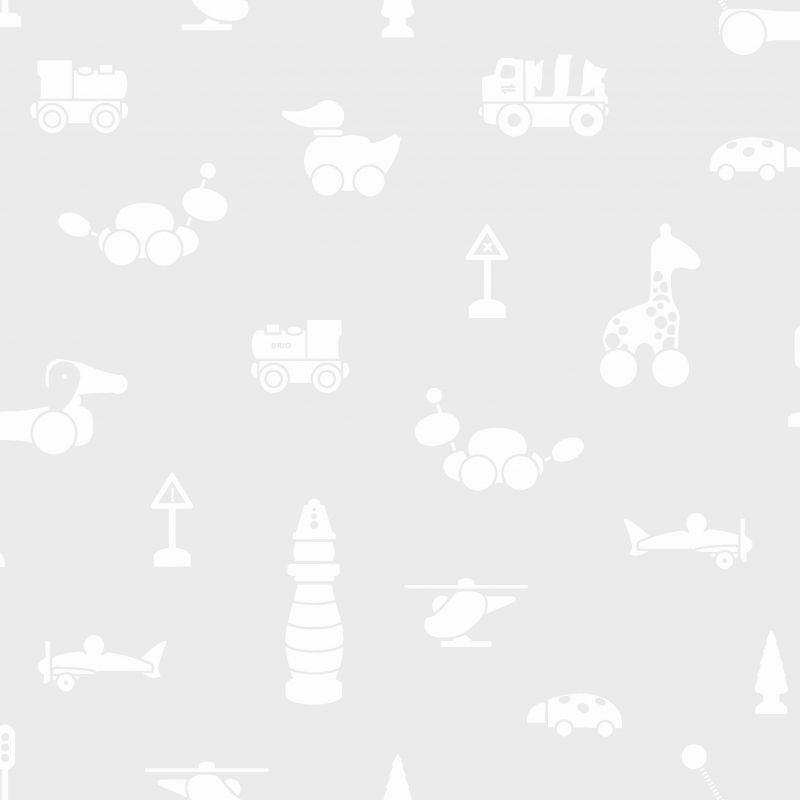 Papel pintado infantil Brio Icons gris
