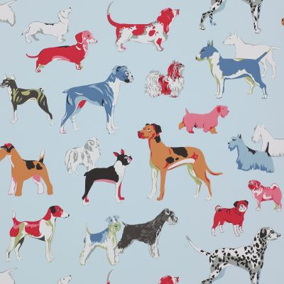 papel pintado infantil Hot Dogs de Jane Churchi